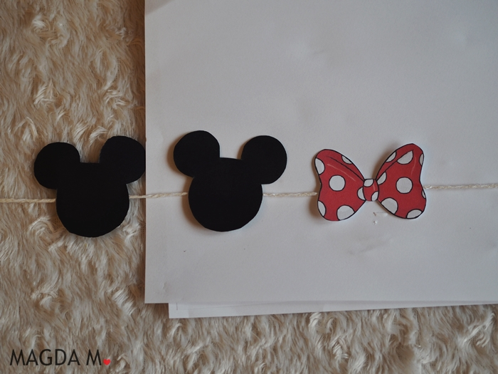 girlanda Minnie DIY