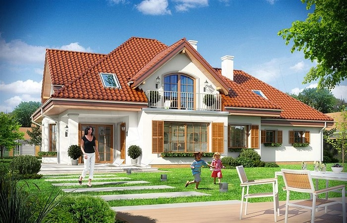 Idealna działka, idealny dom...